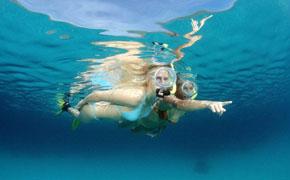 马尔代夫芙拉瓦丽4晚6 日自由行  直飞,水飞上岛,浮潜A级,水下餐厅